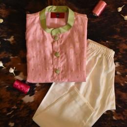 Pink Kurta Pyjama Set