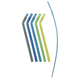 Reusable Silicone Straw - Pack of 5