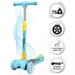 Road Runner Scooter for Kids - The Smart Kick Scooter for Kids - Blue