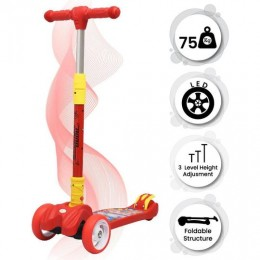 Road Runner Scooter for Kids - The Smart Kick Scooter for Kids - Red