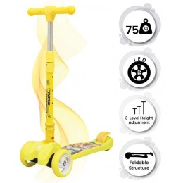 Road Runner Scooter for Kids - The Smart Kick Scooter for Kids - Yellow