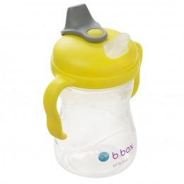 Soft Spout Cup 240ml- Lemon Yellow Grey