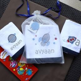 Space Adventure - Baby Towel Set