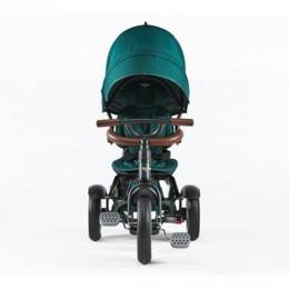 Spruce Green Trike Toddler Tricycle 6 in 1 Air Wheel Children Buggy Pram