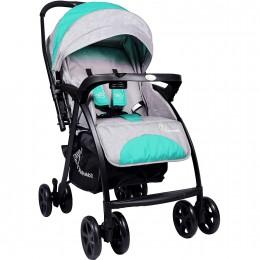 Sugar Pop Baby Strollers Green Grey