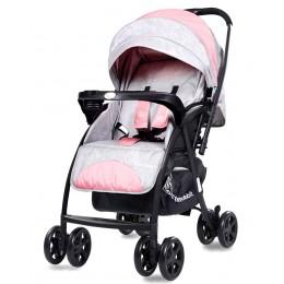 Sugar Pop Baby Strollers Pink Grey