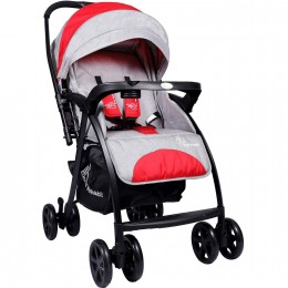 Sugar Pop Baby Strollers Red Grey