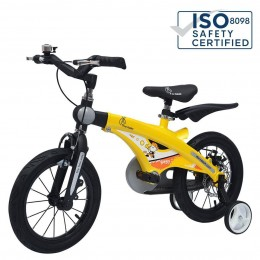 Tiny Toes Jazz Smart Plug and Play Kids Bicycle 16 inch/T for 4 to 7 years - Yellow