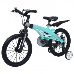 Tiny Toes Jazz Smart Plug and Play Kids Bicycle 16 inch/T for 4 to 7 years - Lake Blue