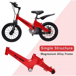 Tiny Toes Rapid The 14 inch Smart Plug and Play Bicycle for Kids - Red