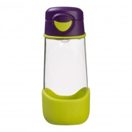 Tritan Sport Spout Drink Bottle 450ml – Passion Splash Purple Green