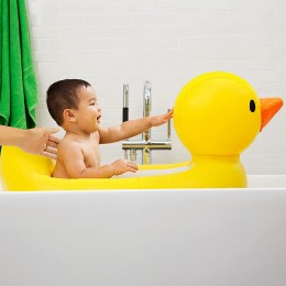 White Hot Inflatable Safety Duck Tub