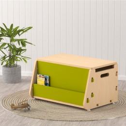 Aqua Plum Toy Chest – Green