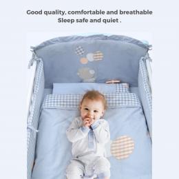 Baby Bear Crib Bedding 10 piece – Pink