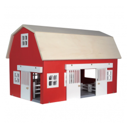 Barn House with Animals