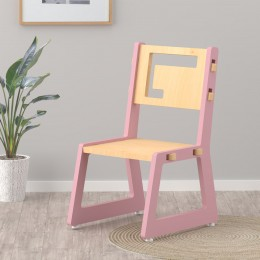 Blue Apple Chair – Pink