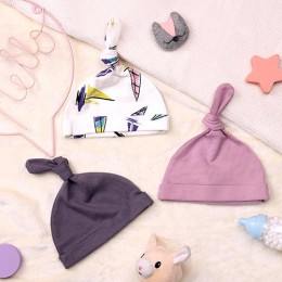 Bon Voyage Baby Caps - 3 pack