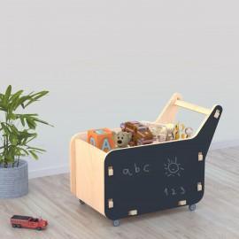 Brown Melon Toy Cart