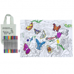 Butterfly Placemat To Go