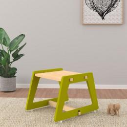 Charcoal Chikku Stool – Green