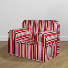 Comfy Sofa- Multi Stripe Casablanca