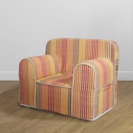 Comfy Sofa- Woven Stripes Terra