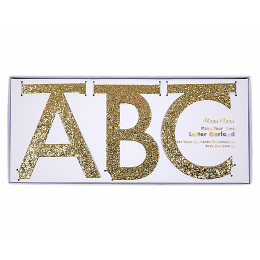 DIY Gold Multi-Letter Garland Kit