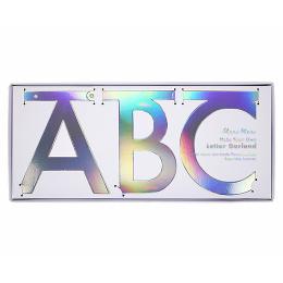 DIY Silver Multi-Letter Garland Kit
