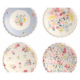 English Garden Plates