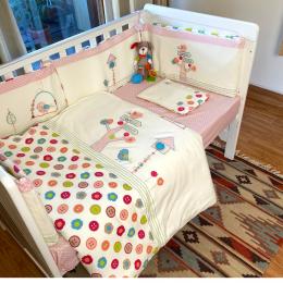 Flower Land Crib Bedding with Quilt