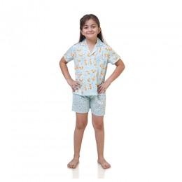 Fox pure cotton Shirt with Shorts set