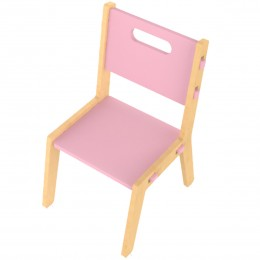 Grey Guava Chair – Pink