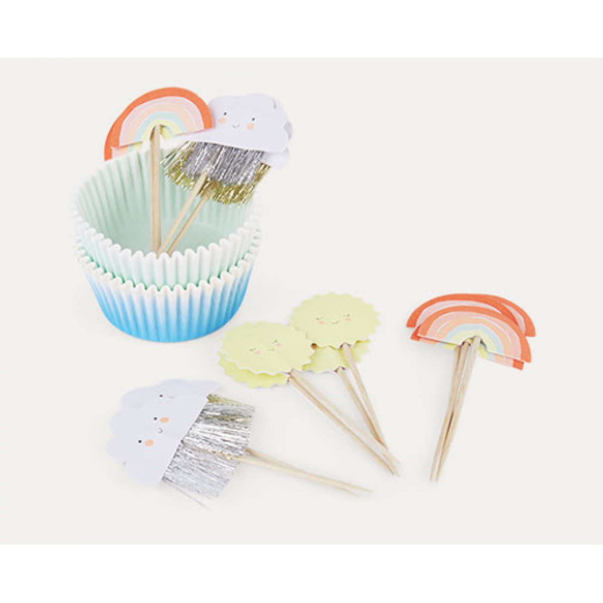 Happy Weather Cupcake Kit