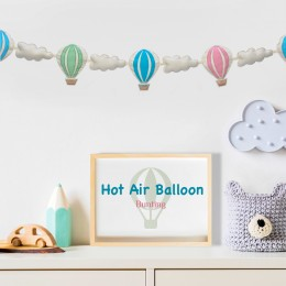 Hot Air Ballon Bunting