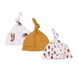 Lets Hangout Baby Caps - 3 pack