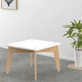 Lime Fig Table – 15 Inch– White