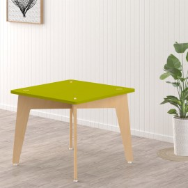 Lime Fig Table – 18 Inch – Green