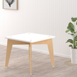 Lime Fig Table – 18 Inch – White