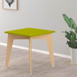 Lime Fig Table – 21 Inch – Green