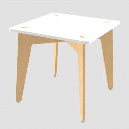 Lime Fig Table – 21 Inch – White