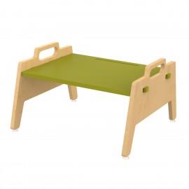 Metallic Berries Floor Table – Green