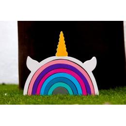 Magical Unicorn 8 Pieces