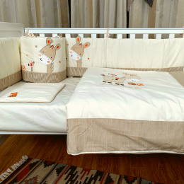 Meadow Land Crib Bedding with Quil