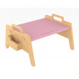 Metallic Berries Floor Table – Pink