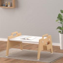 Metallic Berries Floor Table – White