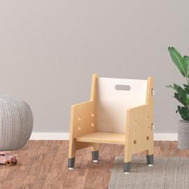 Purple Mango Weaning Chair – White