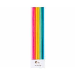 Rainbow Bright Candles