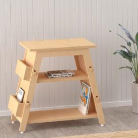 Red Pear Book Display Shelf – Natural