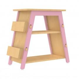 Red Pear Book Display Shelf – Pink