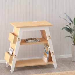 Red Pear Book Display Shelf – White
